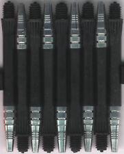2in. 2ba Black Alamo Nylon Dart Shafts: 3 per set