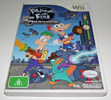 Phineas and Ferb 2nd Dimension Nintendo Wii PAL *Completel* Wii U Compatible