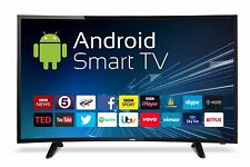 "Cello 40""  CURVED LED TV ANDROID SMART FREEVIEW HD 2 HDMI USB HD 720p BRAND NEW"