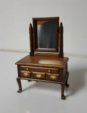 """Music Box Dresser with Vanity Mirror Wood plays """"you light up my life"""""""