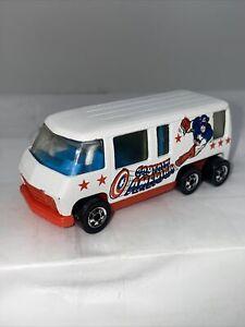 Hot wheels scene machines VTG Captain America #2851 1980 Motor Home NM