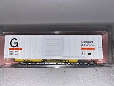 N Scale - Roundhouse (8860) Guilford - Delaware & Hudson 50' Boxcar #76024 N526