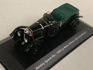 1/43 IXO Bentley Speed Six car #1 Winner of the 1929 24 Hours of LeMans D200