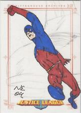 Justice League Archives - Neil Edwards SketchaFEX Sketch Card