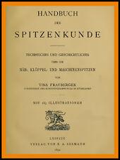 Handbuch der Spitzenkunde Näh- Klöppel- und Maschinenspitzen auf CD klöppeln