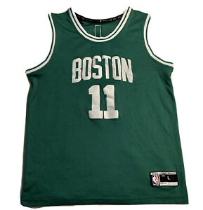 BOSTON CELTICS KYRIE IRVING #11 NBA BASKETBALL VINTAGE JERSEY BOYS LARGE SHIRT