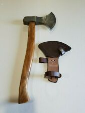 Damascus Steel Hand Axe 19 Inches Wood Handle