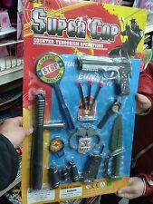 Set poloziotto pistola armi kit gioco di qualità giocattolo toy