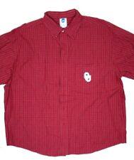 Oklahoma University OU Button Down Plaid Shirt Size XL