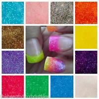 10g Summer Nails Glitter - Fine Dust Iridescent Neon Holo Nail Art Gel Acrylic
