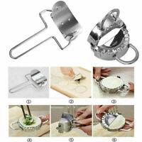 Edelstahl Dumpling Hersteller Form Oder Wraper Teig Presser Küche Gadget D4 M1L6