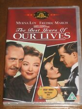 The Best Years Of Our Lives (1946) (*Locked* Pal Region 2 Dvd) Myrna Loy - New!