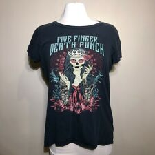 Five Finger Death Punch t shirt size Ladies Womens Xl disturbed rob zombie