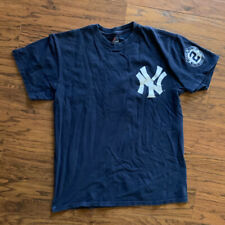 Vintage NEW YORK YANKEES DEREK JETER #2 JerSey Captain TEE SHIRT Men Medium