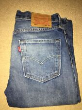Genuine Mens Levi 501 Skinny Jeans W30 L32
