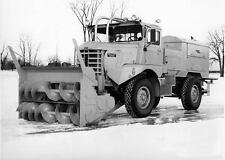 1961 Walter Sicard Diesel Snowblower Truck Photo  ua3892-42TBMA
