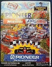 Pioneer 200 course automobile programme program 1991 Mid Ohio