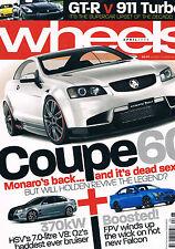 Wheels Apr 08 Monaro Coupe 60 R35 GT-R 911 Turbo WRX STi Golf R32 Territory Ghia