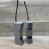 VTG Set AT&T Walkie Talkies Cellular Phone Style Playtime Solid State Amplifier