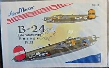 1/72 AEROMASTER DECALS - CONSOLIDATED B-24 LIBERATORS OVER EUROPE 8TH AIR FORCE