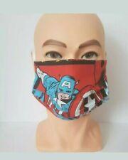 Face Mask - Captain America - plus Filter