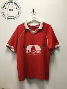 Accrington Stanley home Football Shirt 1999/2000 Men's Large
