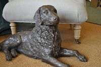 Labrador Retriever Sculpture Bronze Bronze Dog Man's Best Friend Dog