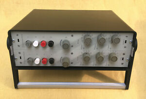 German Vintage Stereo EQ Lunchbox  Pultec-Style  full discrete with chokes