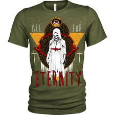 For Eternity T-Shirt demon nun evil priest Unisex Mens