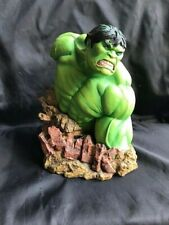 """Marvel Universe The Incredible Hulk 7"""" Resin Bust by Rudy Garcia with COA"""