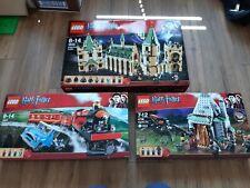 Lego Harry Potter Retired Sets: 4842 Castle, 4841 Hogwarts Express, 4738 Hagrid