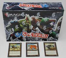 Unsanctioned Box + Rock Lobster, Paper Tiger, & Scissors Lizard --- MTG Magic