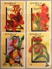 ST VINCENT GRENADINES 1990 ex 719-726 Orchideen Orchids Blumen Flowers MNH