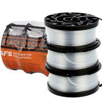 "3 Pack Black&Decker AF-100-3ZP 30ft 0.065"" Line String Trimmer Replacement Spool"