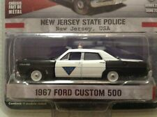 Greenlight 1/64 1967 FORD CUSTOM 500 Galaxie NEW JERSEY State Police Car