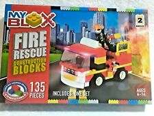 Fire Rescue Construction Blocks My Blox Compatible With Other Brands
