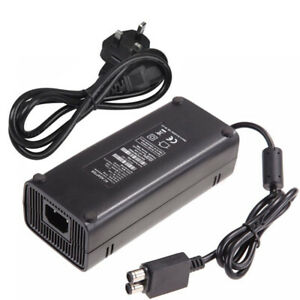 For Xbox 360 Slim 135W 12V AC Brick Adapter Power Supply Mains Charger Cable UK