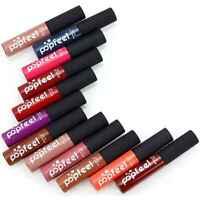 12 Farben Matt Wasserfest Langanhaltend Flüssige Lippenstift HQ