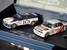 SCALEXTRIC LEGENDS FORD SIERRA RS500 VS BMW E30  C3693A  BOX SET LE 1.32 BNIB