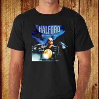New Halford *Resurrection Heavy Metal Rock Band Men's Black T-Shirt Size S-3XL