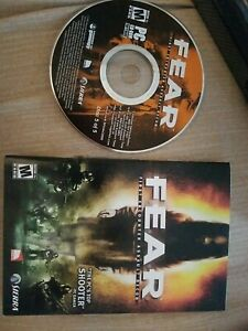 FEAR First Encounter Assault Recon PC game CD-ROM No Case. Used.