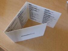 SIGUR ROS - BLONDE REDHEAD - NITS - AMON TOBIN RARE FRENCH PROMO CD!!!!!!!