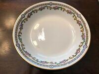 "Limoges J&B France Bouillon /Cream Bowl 4 1/2"" Serving Plate"