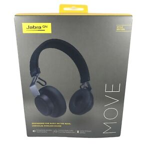 Jabra GN MOVE Navy Blue Wireless Headphones Ultra Light Comfort Free Shipping
