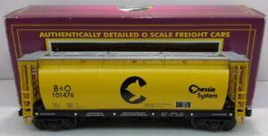 MTH 20-97405 Chessie 3-Bay Cylindrical Hopper LN/Box