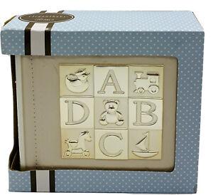 """Elegant baby Baby Needs ABCs Photo Album Holds 100 4"""" X 6"""" Photos"""