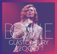 David Bowie Glastonbury 2000 (2018) 21-track 2-CD Album Neuf/Scellé