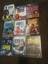 Deadliest Catch The Complete Seasons 1-9 DVD Lot Seasons 1,2,3,4,5,6,7,8 and 9