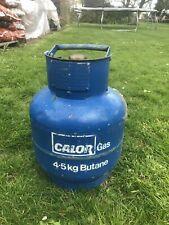 Calor gas bottle 4.5kg butane 1/2 full