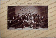 TURANIA Winterthur 1907/08:Sektion des Schweiz Studenten-Vereins phot.von Jaggli